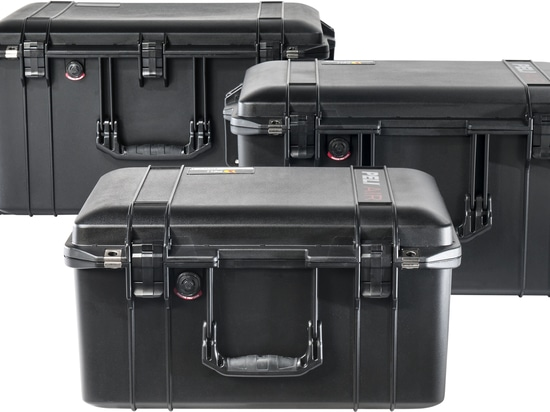 Peli Products Unveils 3 Sizes of Lightweight Peli™ Air Cases New Peli Air 1557, 1607 and 1637. 45% Deeper, 40% Lighter