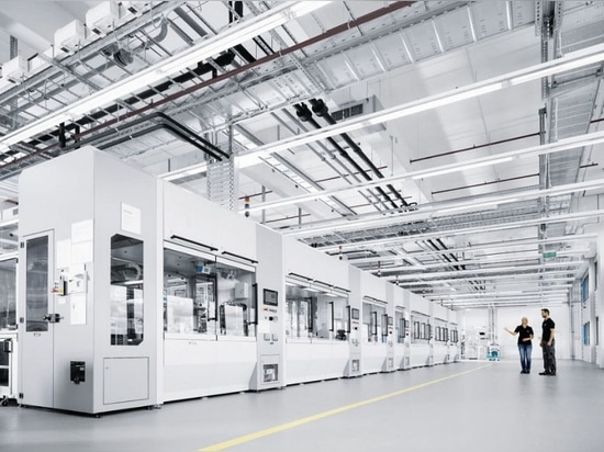 Technology plant valve production cells, Courtesy of Festo