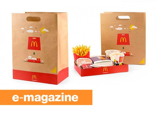 McDonald's BagTray: The Takeout Bag that Becomes a Tray