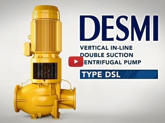 DESMI DSL Centrifugal Pump Video