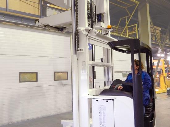 Chariot double poste à conducteur porté SERAPID / Bosch / Fenwick