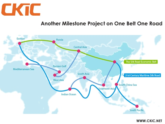 Another Milestone Project on One Belt One Road