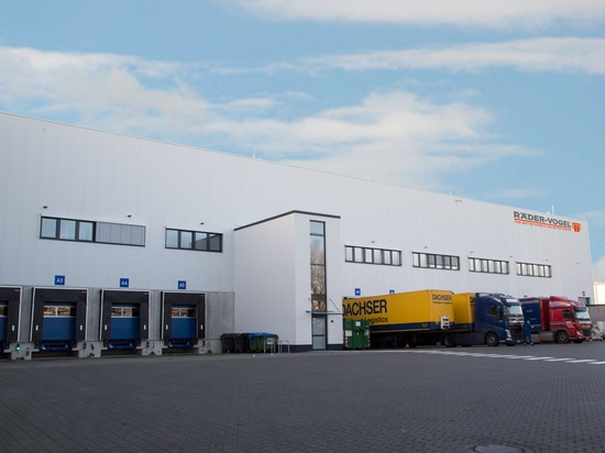 Logistics centre moves to modern new building