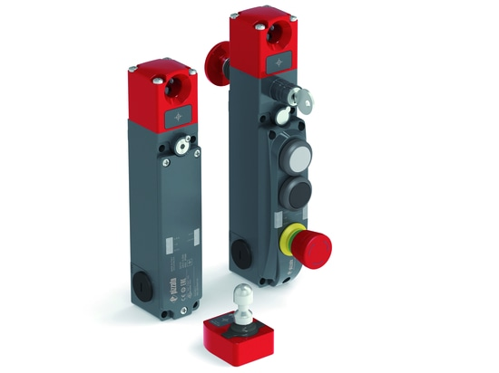 NG series safety switches with integrated control devices