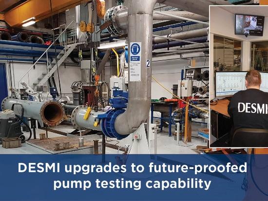 DESMI upgrades to future-proofed pump testing capability