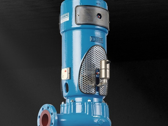 Egger Vortex Pump with ABB Smart Sensor for Monitoring