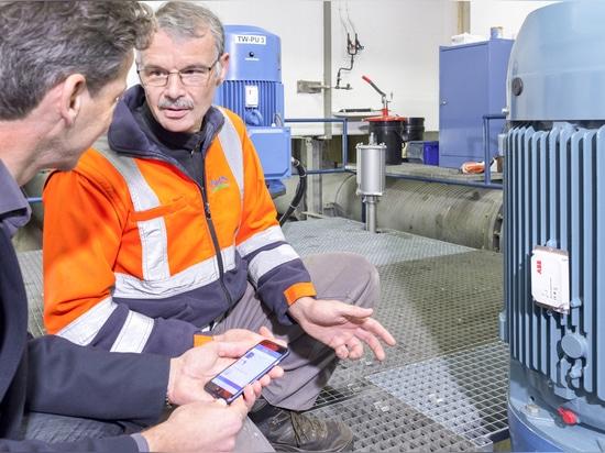 ABB Smart Sensor for pump and motor monitoring