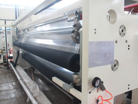 4-layer CPE Cast Film Line for Customer in China