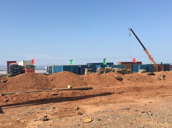 Crushing Basalt in Djibouti with MB crushing equipments.