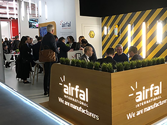 Airfal ATEX luminaires seized the public's attention in the Light and Building show