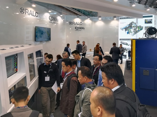 Ralc Italia - Conni Cutting Lines at the Tube 2018 exhibition: a successful event!
