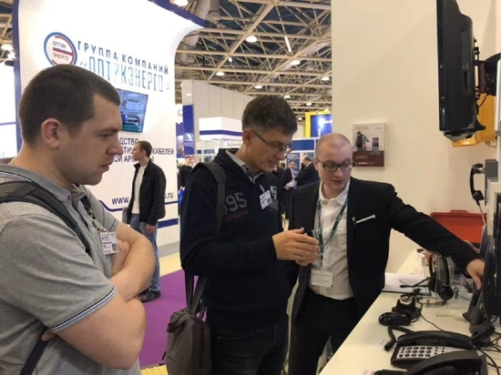 Sviaz 2018 in Moscow