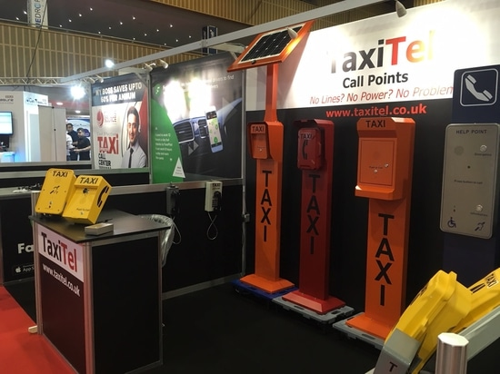 Our TAXI Phones Show at PHTM Exhibition in UK