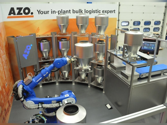 AZO®RoLog – Automated, robot-based dosing of micro quantities