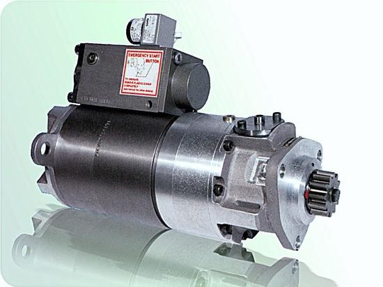Pneumatic starter motor