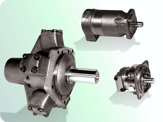 Radial and axial piston hydraulic motors