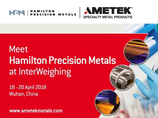 AMETEK SMP to exhibit at InterWeighing 2018 in China