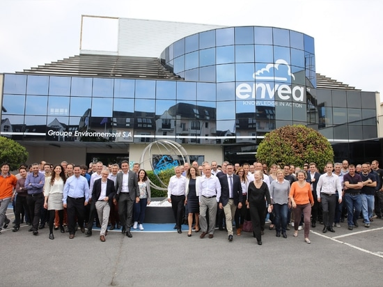 ENVEA Group marks its 40th anniversary and celebrates its worldwide team of staff awarding them with 40 free shares of the company