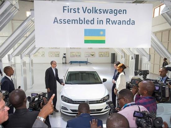 VW starts assembly in Kigali
