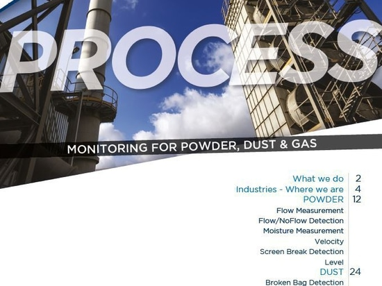 New catalogue launched: PROCESS monitoring systems