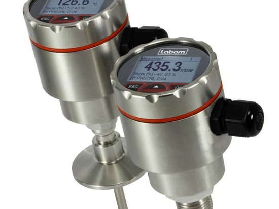 THE NEW V-LINE: PRESSURE AND TEMPERATURE TRANSMITTER COMPACT AND PRECISE