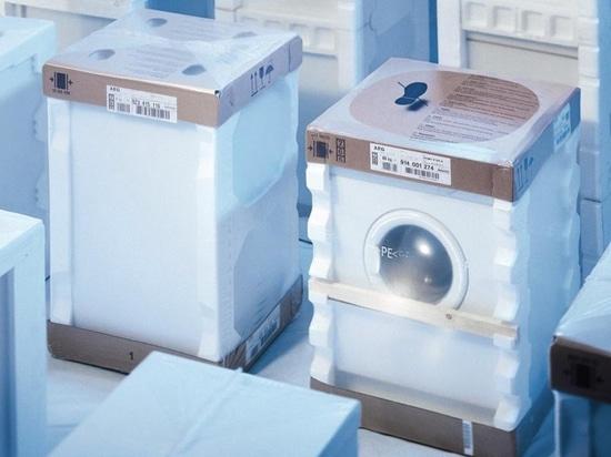 Shrinking maschine household appliance