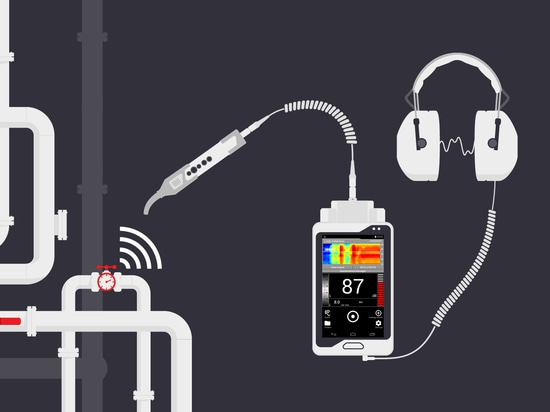 Leak Detection with SONAPHONE ultrasonic testing device