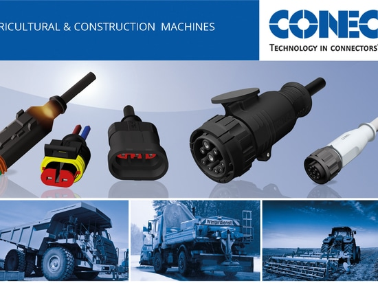 Connectors for Agricultural, Construction and municipal technology
