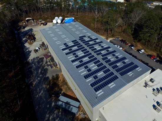 Solar Power Reduces Manufacturer's Electricity Needs, Carbon Footprint