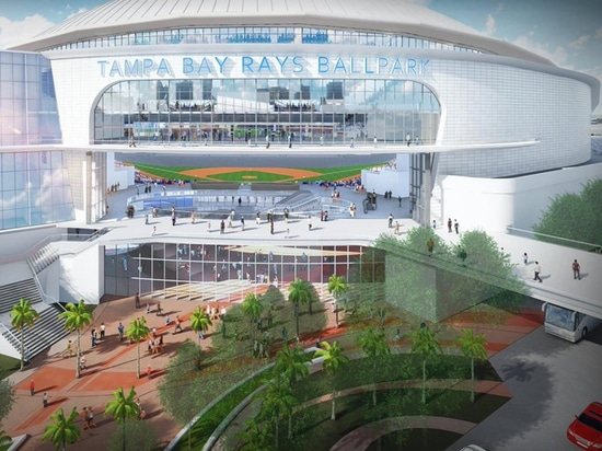 Tampa Bay Rays Unveil Domed Stadium Renderings