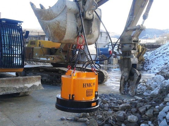 Inmalo to Supply GI-DA Hydraulic Magnet Attachments for Scrap Yards