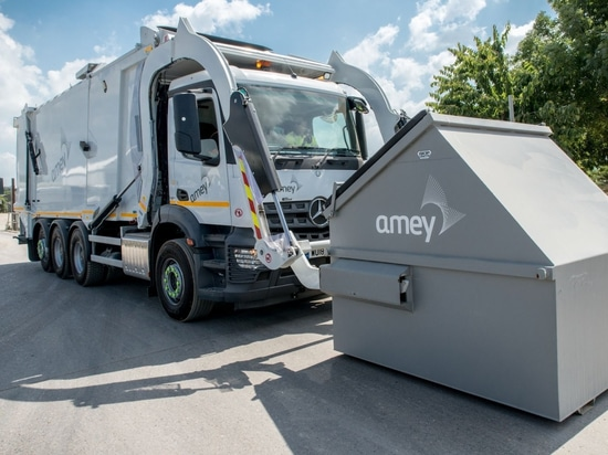 New Faun Front End Loading Waste Collection Vehicle for Amey