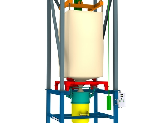 AZO Big-Bag discharge station – modular, flexible und cost-efficient