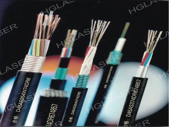 Why choose laser to mark on cable
