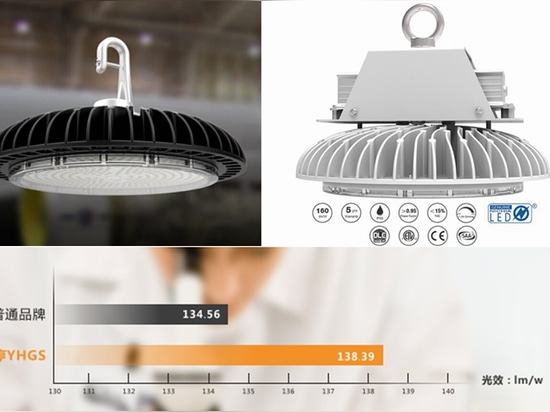 LED high bay lighting fixture