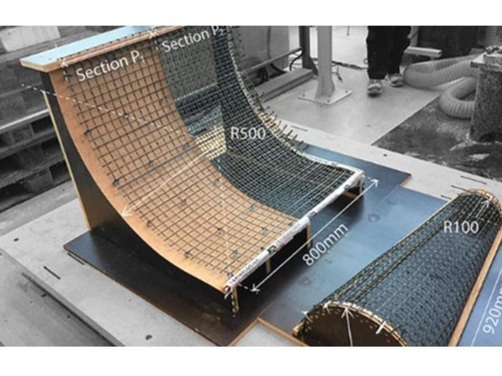 SCRIM: New Method of 3D Printing Concrete Uses Mesh to Create Lightweight Structures