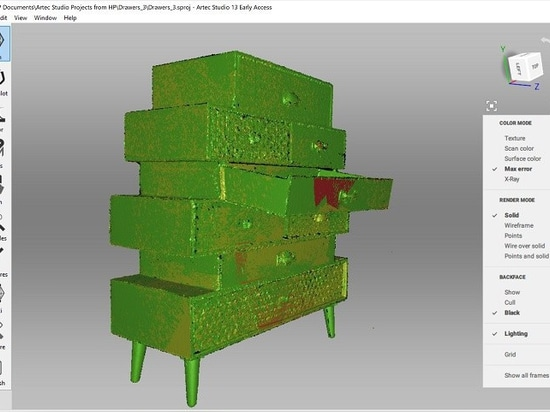 ARTEC 3D LAUNCHES STUDIO 13 SOFTWARE WITH NEW X-RAY MODE FOR RAW 3D DATA