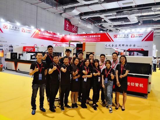 GOLDEN VTOP LASER ATTENDED SHANGHAI INTERNATIONAL FURNITURE MACHINERY & WOODWORKING MACHINERY FAIR
