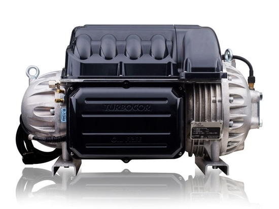 Danfoss introduces low-GWP R-513A refrigerant option and low lift capability for Danfoss Turbocor® TT Series compressors