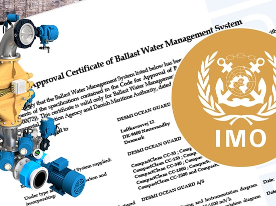 DESMI Ocean Guard's CompactClean Ballast Water Management System receives IMO Type Approval