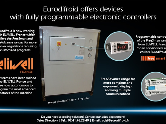 Eurodifroid offers devices with fully programmable electronic controllers