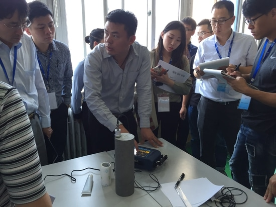 TIME Ultrasonic Flaw Detector Training