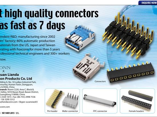 LDCONN board to board connectors, wire to board connectors, I/O connectors,  HDMI connectors