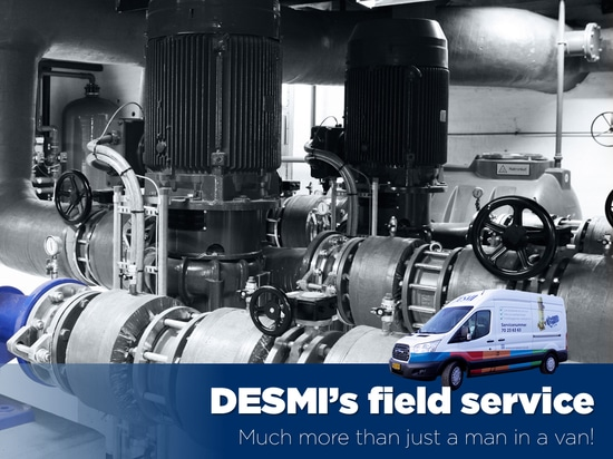 DESMI's field service – much more than just a man in a van