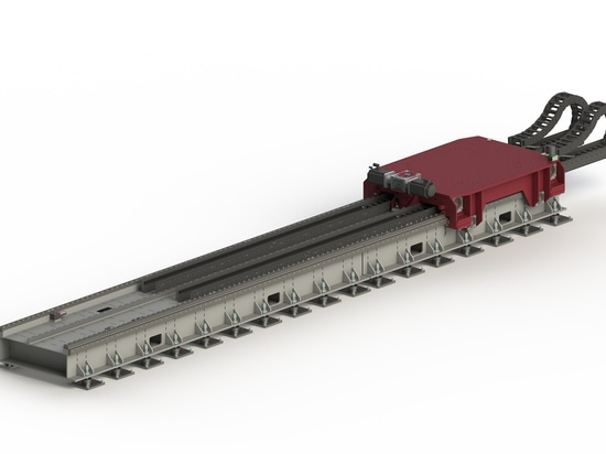 The linear floor track cost-effectively and reliably extends the work envelope of these super-heavy-payload robots, which can be a critical component in justifying the significant price point of th...