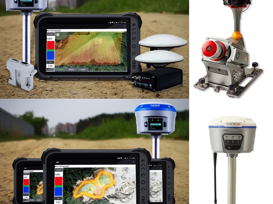 CHC Navigation introduces 3 major Innovative Solutions for GNSS RTK, Machine Control and 3D Mobile Mapping at Intergeo 2018.