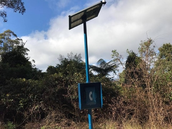 Five solar powered satellite phones have been installed along the Oxley Highway in NSW to improve emergency response times and potentially save lives.