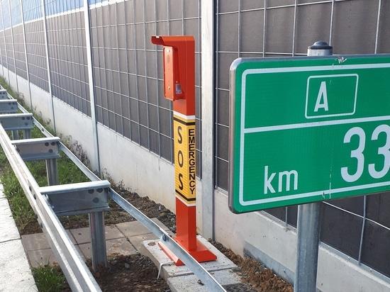 VoIP SOS Telephone Pillars for Bosnia and Herzegovina Highway