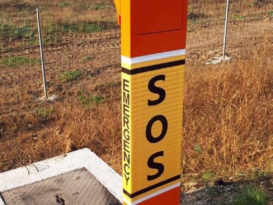 IP SOS Telephone Pillars for Bosnia and Herzegovina Highway