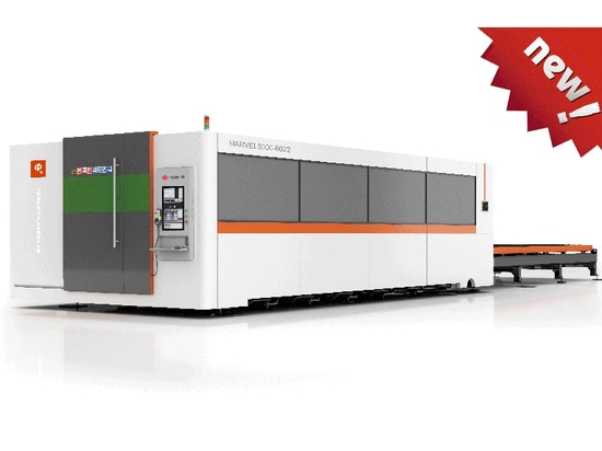 HGTECH New 12000W fiber laser cutting machine released!!!